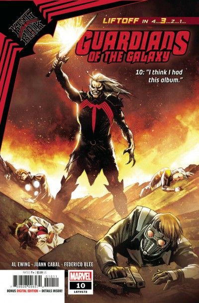 Guardians of the Galaxy (2020) #10 VF/NM Rafael Albuquerque Cover King In Black