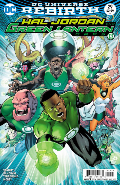 Hal Jordan and the Green Lantern Corps (2016) #29 VF/NM Barry Kitson Cover