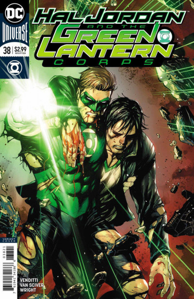 Hal Jordan and the Green Lantern Corps (2016) #38 VF/NM Tyler Kirkham Cover