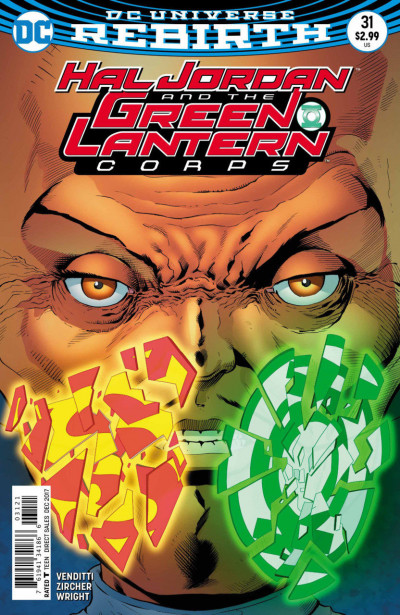 Hal Jordan and the Green Lantern Corps (2016) #31 VF/NM Barry Kitson Cover