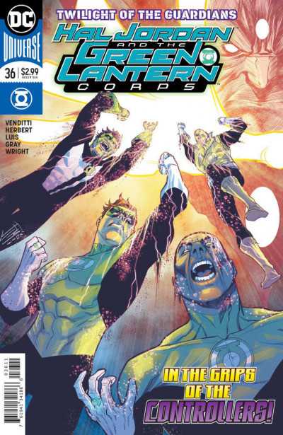 Hal Jordan and the Green Lantern Corps (2016) #36 VF/NM Francis Manapul Cover