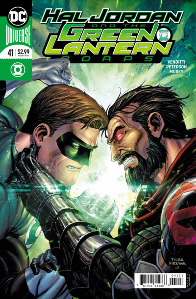 Hal Jordan and the Green Lantern Corps (2016) #'s 36 37 38 39 40 41 Zod's Will