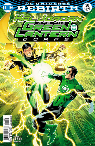 Hal Jordan and the Green Lantern Corps (2016) #30 VF/NM Barry Kitson Cover