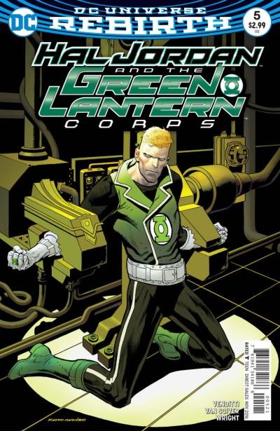Hal Jordan and the Green Lantern Corps (2016) #5 VF/NM Rebirth Nowlan Cover