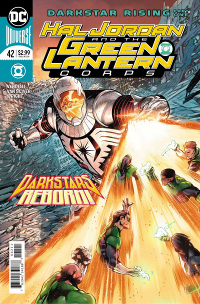 Hal Jordan and the Green Lantern Corps (2016) #42 VF/NM Rafa Sandoval Cover