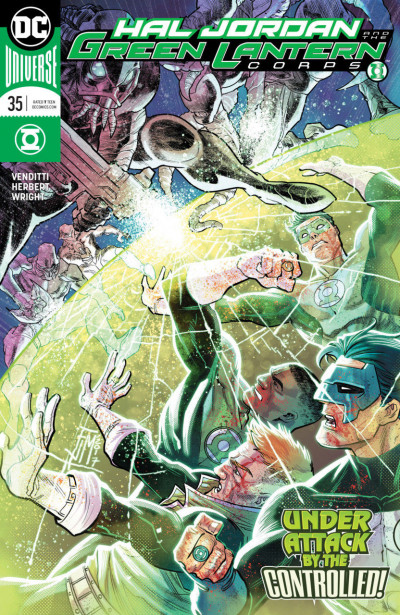 Hal Jordan and the Green Lantern Corps (2016) #35 VF/NM Francis Manapul Cover