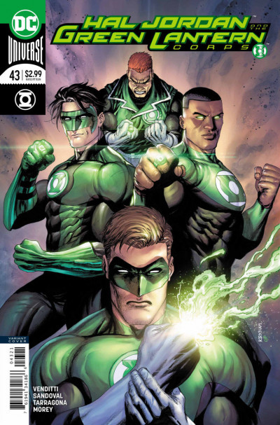 Hal Jordan and the Green Lantern Corps (2016) #43 VF/NM Tyler Kirkham Cover