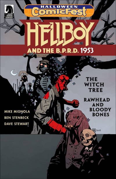 Halloween Comic Fest 2017 - Hellboy and The B.P.R.D. Rawhead Rex and Bloody Bone