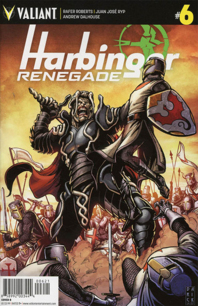 Harbinger Renegade (2017) #6 VF/NM Darick Robertson Cover Valiant