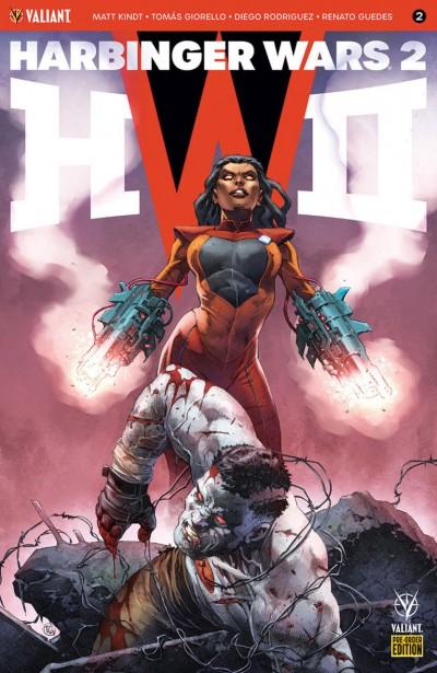 Harbinger Wars 2 (2018) #2 VF/NM Variant Cover Valiant