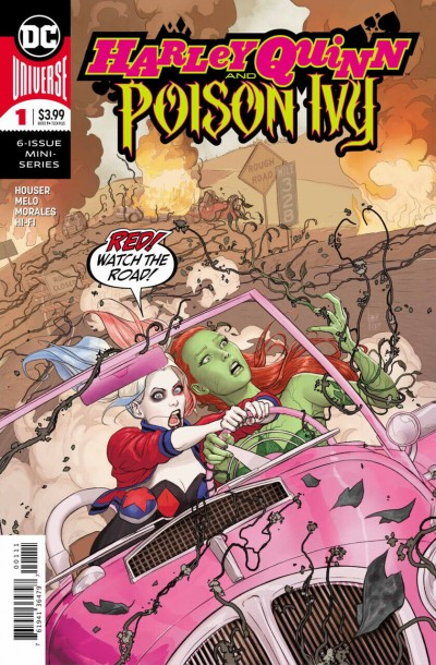 Harley Quinn & Poison Ivy (2019) #1 of 6 VF/NM Mikel Janin Cover