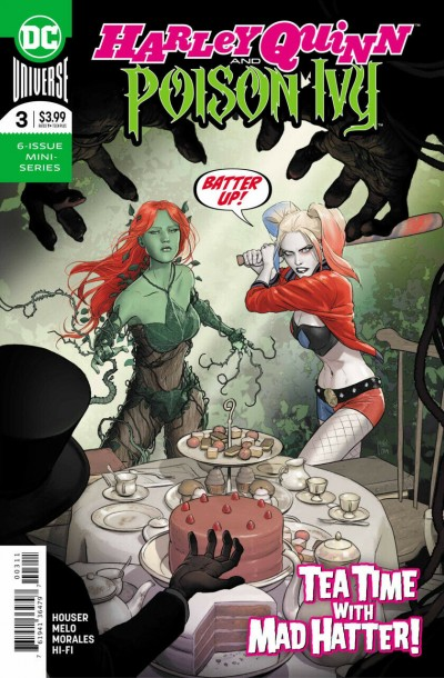 Harley Quinn & Poison Ivy (2019) #3 of 6 VF/NM Mikel Janin Regular Cover