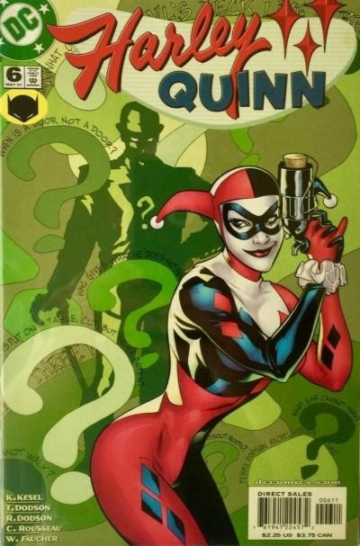 Harley Quinn (2000) #6 VF/NM Terry Dodson Art Riddler