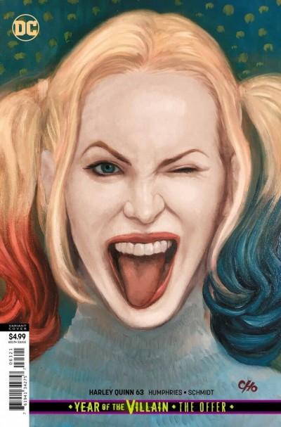 Harley Quinn (2016) #63 VF/NM Frank Cho Card Stock Variant Cover YOTV