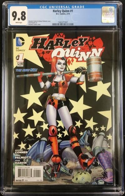 Harley Quinn (2014) #1 CGC 9.8 (1565371007)