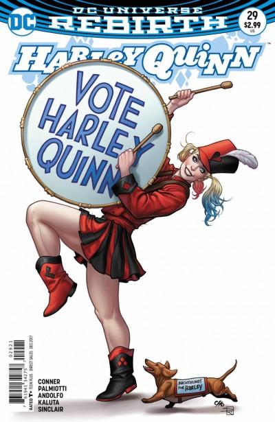 Harley Quinn (2016) #29 VF/NM Frank Cho Variant Cover DC Universe Rebirth