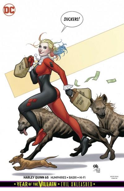 Harley Quinn (2016) #65 VF/NM Frank Cho Variant Cover