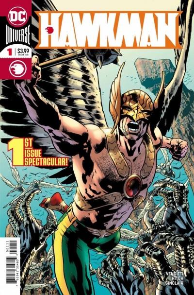 Hawkman (2018) #1 VF/NM Bryan Hitch Cover DC Universe