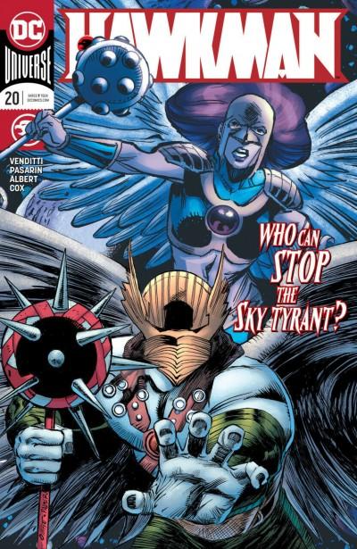 Hawkman (2018) #20 VF/NM Pat Olliffe Cover DC Universe