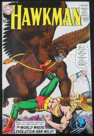 HAWKMAN #6 VF