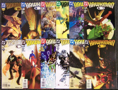 HAWKMAN #'s 1-66 COMPLETE RUN NM 2002