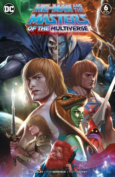 He-Man and the Masters of the Multiverse (2019) #6 of 6 VF/NM In-Hyuk Lee