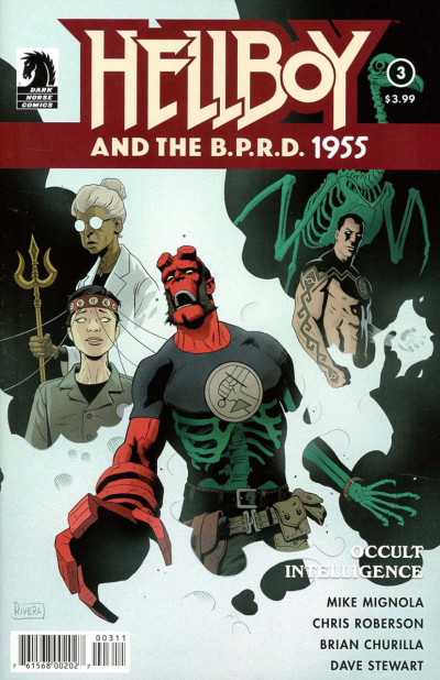 Hellboy and the B.P.R.D.: 1955--Occult Intelligence (2017) #3 VF/NM Mike Mignola