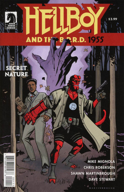 Hellboy and the B.P.R.D.: 1955-- Secret Nature (2017) #1 VF/NM Mike Mignola