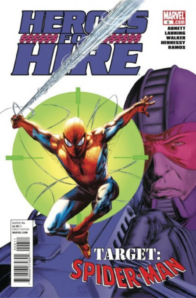 HEROES FOR HIRE #6 NM SPIDER-MAN APPEARANCE