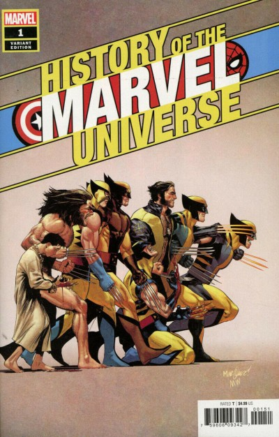 History of the Marvel Universe (2019) #1 VF/NM-NM David Marquez 1:50 Variant