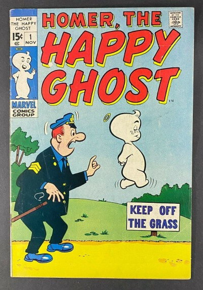 Homer, the Happy Ghost (1969) #1 FN- (5.5)
