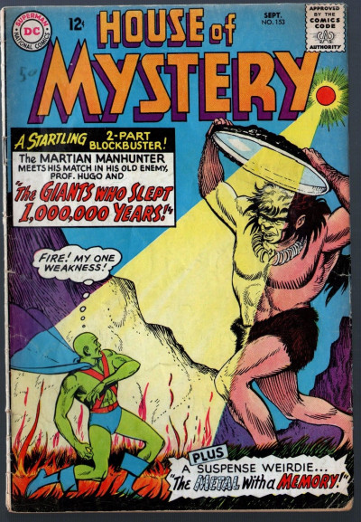 House of Mystery (1952) #153 VG (4.0) Martian Manhunter