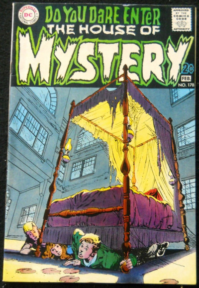 HOUSE OF MYSTERY #178 FN/VF NEAL ADAMS COVER / ART