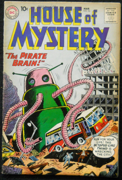 HOUSE OF MYSTERY #96 VG