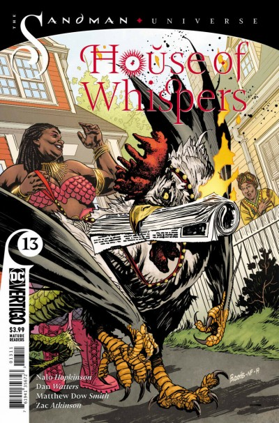 House of Whispers (2019) #13 VF/NM Vertigo Sandman Universe
