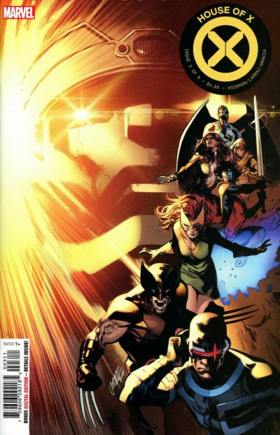 House of X (2019) #3 VF/NM-NM Pepe Larraz Regular Cover First 1st Printing