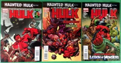 Hulk (2008) 50 51 52 VF/NM (9.0) complete set Haunted Hulk 3 part story arc
