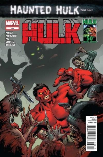 HULK (2008) #50 VF/NM HAUNTED HULK PART ONE RED-HULK