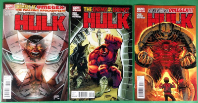 Hulk (2008) 39 40 41 VF/NM (9.0) complete set Omegex 3 part story arc