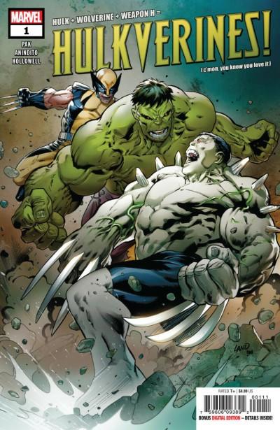 Hulkverines! (2019) #1 VF/NM Greg Land Cover