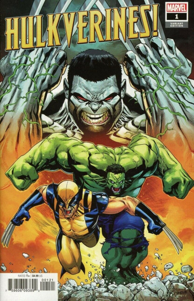 Hulkverines! (2019) #1 VF/NM-NM 1:25 Cory Smith Variant Cover