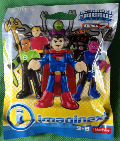 Imaginext DC Super Friends Series 2 unopened Brainiac Fisher price
