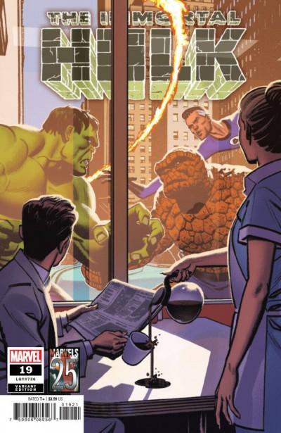 Immortal Hulk (2018) #19 (#736) VF/NM Marvels 25th Anniversary Variant Cover