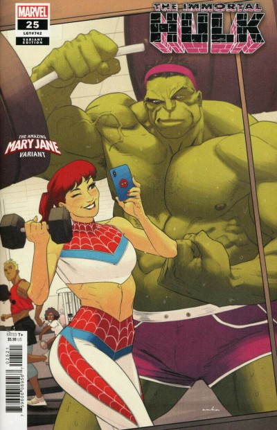 Immortal Hulk (2018) #25 (#742) VF/NM The Amazing Mary Jane Variant Cover