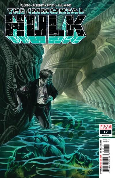 Immortal Hulk (2018) #17 (#734) VF/NM Abomination Alex Ross Cover