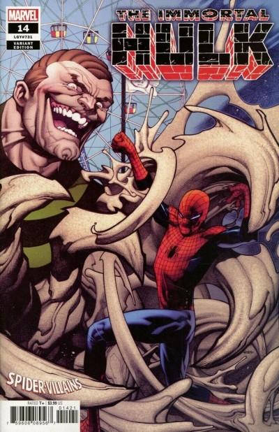 Immortal Hulk (2018) #14 VF/NM-NM Spider-Villains Variant Cover (Sandman)
