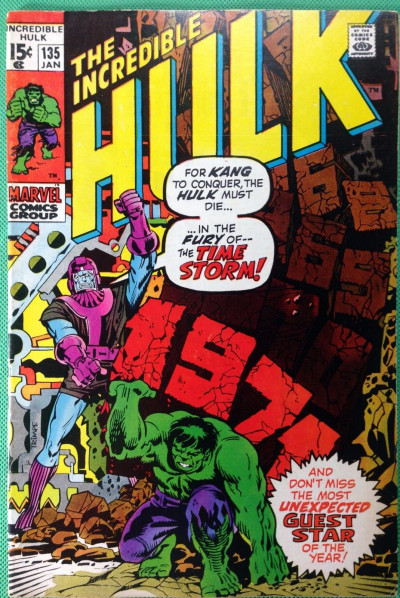 Incredible Hulk (1968) #135 FN+ (6.5) vs Kang