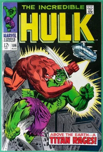Incredible Hulk (1968) #106 VF- (7.5)