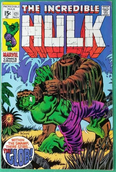 Incredible Hulk (1968) #121 FN- (5.5) 1st app Glob