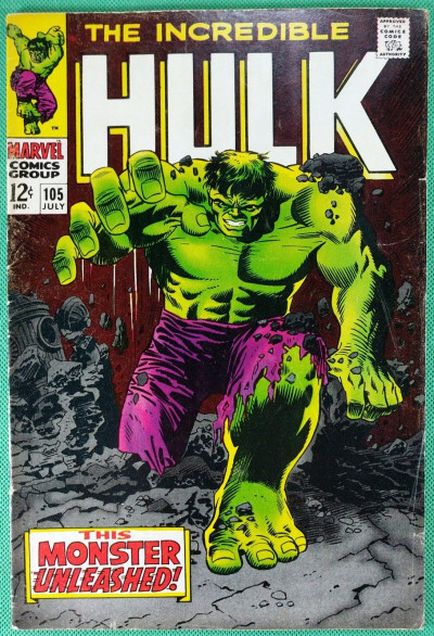 Incredible Hulk (1968) #105 VG/FN (5.0) 1st app Missing Link